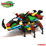 Blocks World Insects World  K32A-Combined (Giant Beetle)