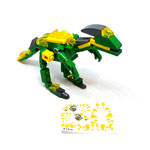 Blocks World Variety Dinosaur (K19A-4A)