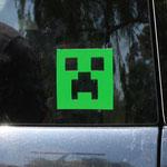 Minecraft Creeper Face Sticker マインクラフトクリーパーフェイスステッカー JNX-008