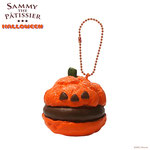 Sammy the Patissier Halloween Pumpkin Cream Puffs Super Squishy (Chocolate)