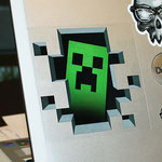 Minecraft Creeper Inside Sticker マインクラフトクリーパーインサイドステッカー JNX-006