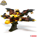 Blocks World Variety Dinosaur K19A-1+3+5+8