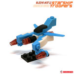 Blocks World Space War Starship Troopers K28A-3A