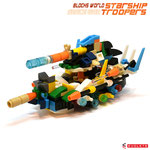 Blocks World Space War Starship Troopers K28A-Combined