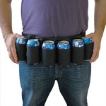 Beer Belt (Black) ビールベルト(ブラック)
