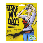 Make My Day! Shotgun Beer Tool ショットガン栓抜き