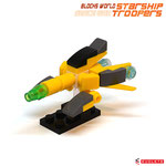 Blocks World Space War Starship Troopers K28A-8A