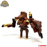 Blocks World Variety Dinosaur (K19A-8C)