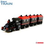 Blocks World Steam Train PG10042