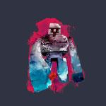 Minecraft Iron Golem Premium Tee マインクラフトアイアンゴーレムTシャツ