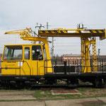 Mehrzweck Gleisarbeitsfahrzeug MZA - Railsystems RP GmbH