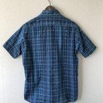 サイズ表記(L):バスト55、前丈67、後丈73、袖丈24 綿100%