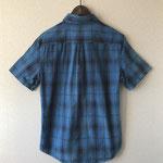 サイズ表記(L):肩幅46、バスト56、着丈70、袖丈22.5 綿100%