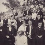Hochzeit Georg Krause/ Antonia Kraemer 1934 in Kobeln/ Kiwitten