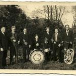 Mein Vater (mit Trompete) und Band