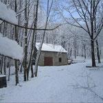 Une location insolite en hiver avec chauffage au bois