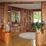 Bibliothek in Kirschbaum