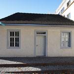 Mique, jüdisches Bad in A-Hohenems Kastenfenster und Tür