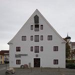 Alte Klostermühle in Rot an der Rot Kastenfenster und Türen