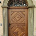 Hintereingang/ Tür Basilika St. Martin Weingarten