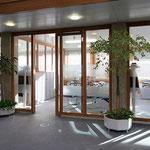 Kreissparkasse in Isny verglaste Bürotrennwände und Büroschränke