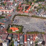 Der Heider Marktplatz - der größte Markplatz in Deutschland (copyright www.dithmarschen-wiki.de)