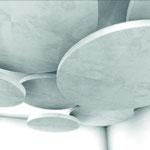 Trockenbau Deckensegel, Rund, Planung und Entwurf Michael Bleich
