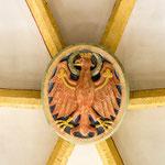 """3. Schlussstein im Gewölbe """"alter Tiroler Adler"""""""