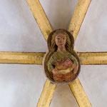 2. Schlussstein im Gewölbe