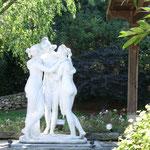 Statues marbre vue 2