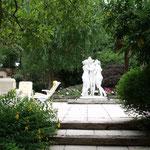 Statues marbre vue 1