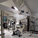 Salle de sport intérieure vue 2