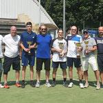 I premiati con alcuni dei membri del CD Tennis Varedo