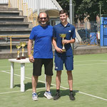 M.R. con il 3° classificato Davide Grassi