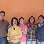 Esdras, la Dra. Hilda, con Nazieli, Gaby, y el Lic. Jose Luis M