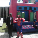 Mr President and spiderman
