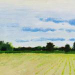 Landschaftsmalerei vom Sommer-Special-Workshop 'Acrylmalerei in der Natur'