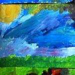 Acrylmalerei aus dem Workshop 'Malen, wie die großen Künstler'
