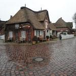 Regentag in Nieblum, Föhr