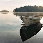 Finnland, morgens in Rauhalla