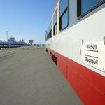 Zug und Fähre nach Föhr und Amrum