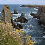 Frankreich, Bretagne, Bell Ile en-mer, Aiguilles des Port-Coton
