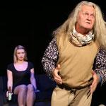 Sekretärin und Dichter - Gini Lampl und Helmut Tschellnig