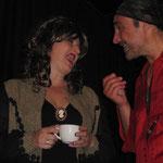 Jacky Surowitz und Peter Austin-Brentnall
