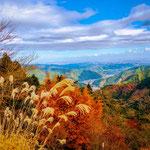 From The Top of Mount Mitake, Okutama.