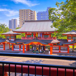 Chiba Shrine in Chiba.