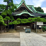 The Main Hall of Taishakuten Temple, Katsushika.