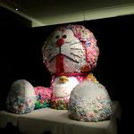 Big Doraemon Stuffed Doll at Mori Art Museum in Roppongi Hills.