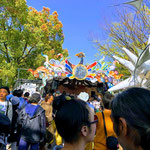 Harukaze (Spring Wind) Music Festival at Yoyogi Park in April.