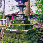 Stone Lantern at Hakone Shrine.